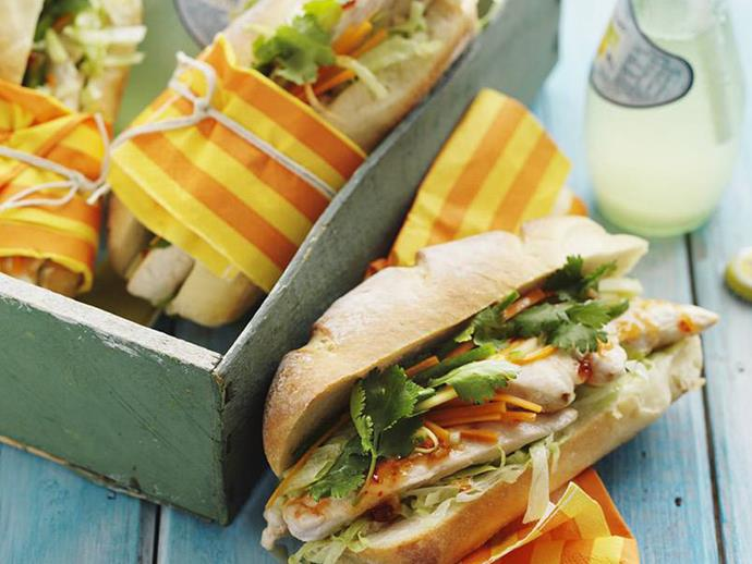 "**[Vietnamese chicken rolls](https://www.womensweeklyfood.com.au/recipes/vietnamese-chicken-rolls-8617|target=""_blank"")**"