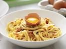 Cream-free spaghetti carbonara