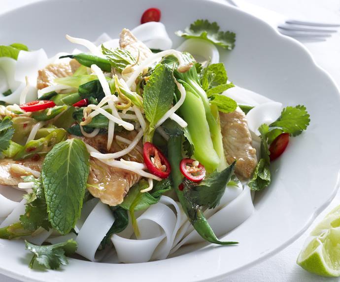 stir-fried thai chicken
