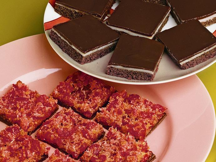 """If you're a fan of the cherry ripe, you'll love our [chocolate cherry slice](https://www.womensweeklyfood.com.au/recipes/chocolate-cherry-slice-15265