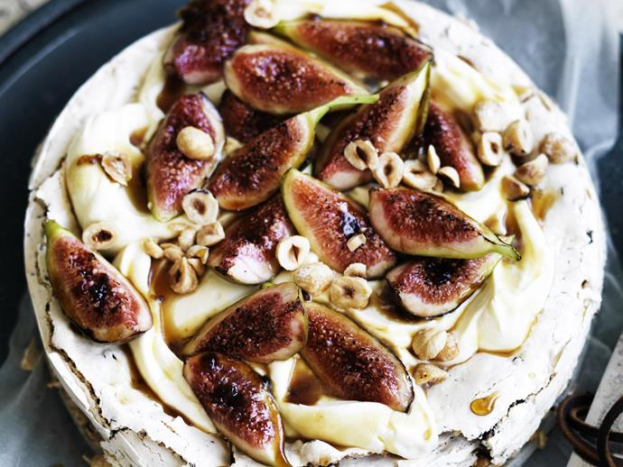 "**[Hazelnut choc chip cake with Frangelico cream and figs recipe.](http://www.foodtolove.com.au/recipes/hazelnut-choc-chip-cake-with-frangelico-cream-and-figs-25879|target=""_blank""