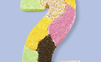 birthday cake numbers - jigsaw two