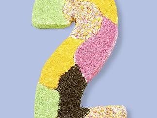 birthday cake numbers - jigsaw two
