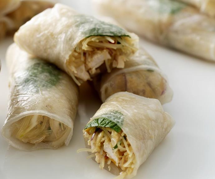 vietnamese rice-paper rolls