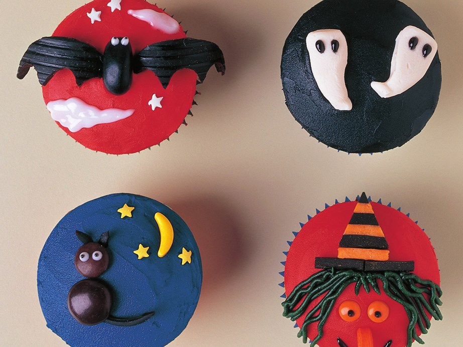 "[Spooky Halloween cupcake decoration ideas](https://www.womensweeklyfood.com.au/recipes/halloween-cupcake-decoration-15291|target=""_blank"") <br><br> Get creative with the buttercream and piping bag to create all sorts of scary toppings!"