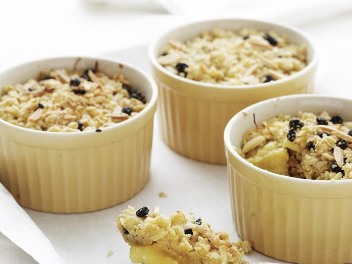 "**[Creamy lemon crumble](https://www.womensweeklyfood.com.au/recipes/creamy-lemon-crumble-14771|target=""_blank"")**"