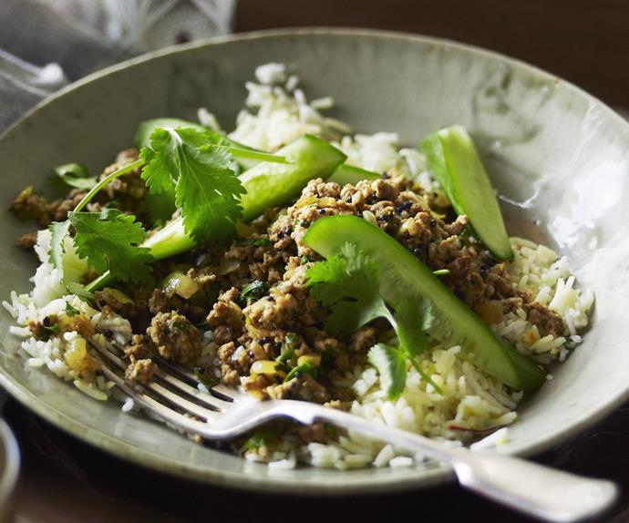 NEPALESE PORK  Mince Curry