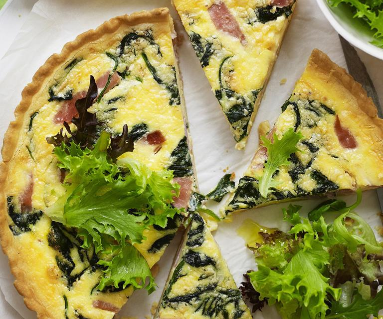 Ham And Spinach Quiche Australian Women S Weekly Food