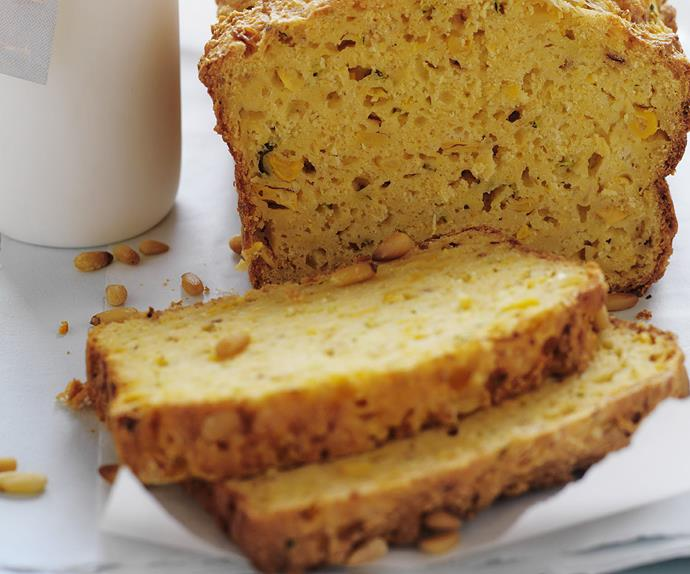 ZUCCHINI AND CORN Bread