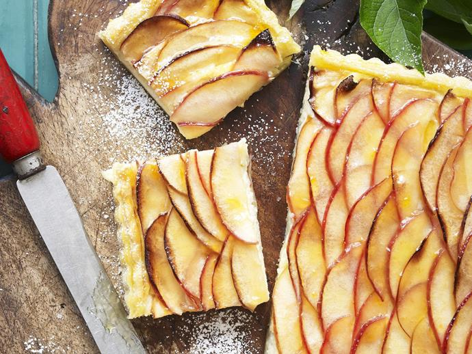 "**[Apple tart](https://www.womensweeklyfood.com.au/recipes/apple-tart-14058|target=""_blank"")**  Fill the house with nostalgic aromas of childhood apple pie with this warm and comforting tart."