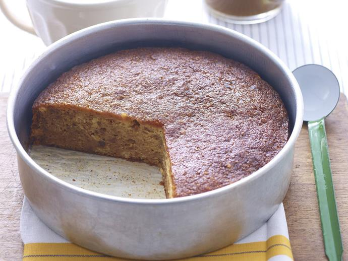 """**[Fig and almond cake with butterscotch sauce](https://www.womensweeklyfood.com.au/recipes/fig-and-almond-cake-with-butterscotch-sauce-14237 target=""""_blank"""")**"""