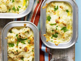 cheesy cauliflower bake