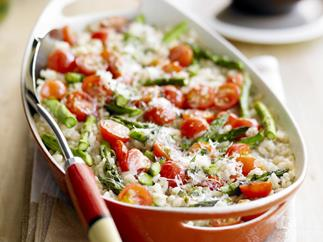 BAKED ASPARAGUS RISOTTO