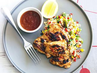 GRILLED PORTUGUESE Chicken and Rice