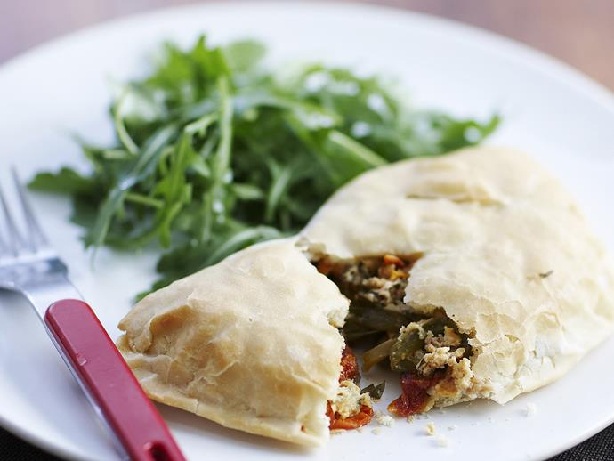 """**[Ricotta and herb calzones](https://www.womensweeklyfood.com.au/recipes/ricotta-and-herb-calzones-5717