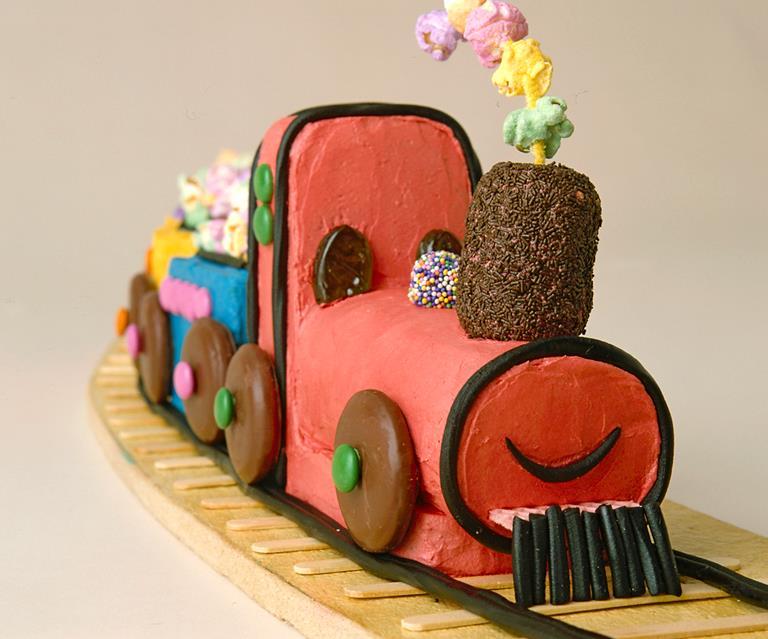 Choo Train Birthday Cake