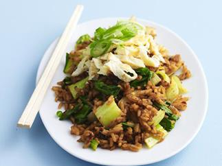 FRIED RICE WITHCHILLI PASTE