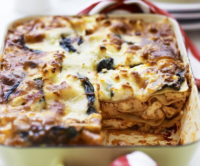 chicken and ricotta lasagne