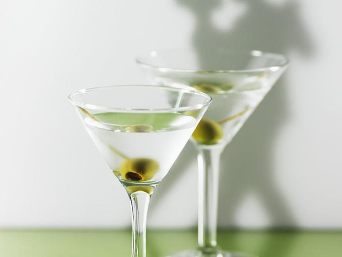 "Nothing beats a [classic vodka martini](https://www.womensweeklyfood.com.au/recipes/vodka-martini-13090|target=""_blank""), in strength or reputation."