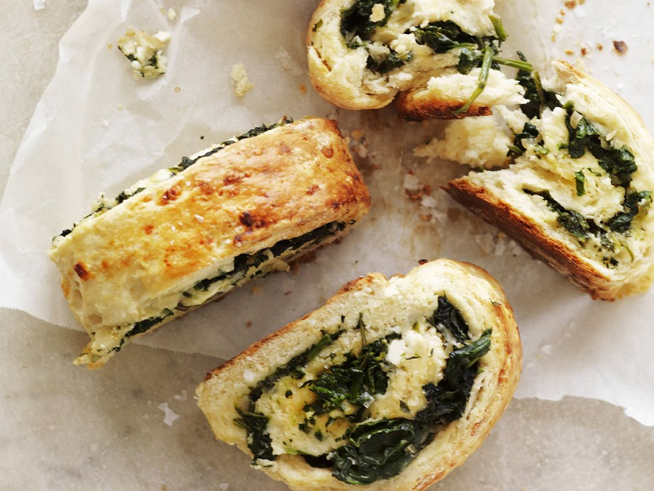 In this savoury recipe tender damper dough is rolled up with spinach and tasty feta cheese for a delicious scroll bursting with flavour. At the base of it all is our simple damper recipe - just taken to the next level!