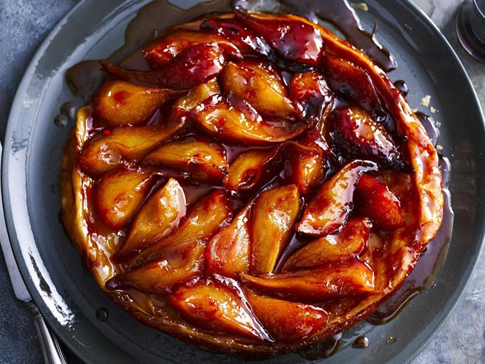 "**[Pear tarte Tatin](https://www.womensweeklyfood.com.au/recipes/pear-tarte-tatin-5436|target=""_blank"")**  This classic upside down French pastry is works just as well with sweet, caramelised pears as it does as an [apple tarte Tatin](https://www.womensweeklyfood.com.au/recipes/tarte-tatin-28625