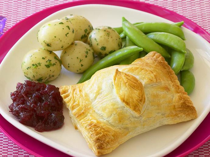 "**[Turkey wellingtons](https://www.womensweeklyfood.com.au/recipes/turkey-wellingtons-12849|target=""_blank"")**"