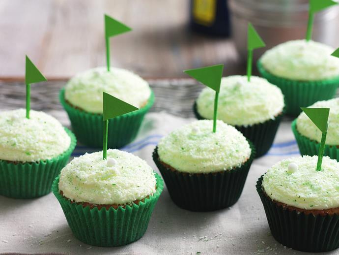 "[Golf cupcakes](http://www.foodtolove.com.au/recipes/golf-cupcakes-21298|target=""_blank"")"