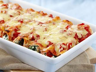 WHOLEMEAL SPINACH AND RICOTTA CANNELLONI