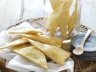 coriander crisps