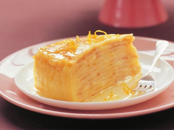 Cake Recipe With Lemon Curd: Lemon Curd Crepe Cake Recipe