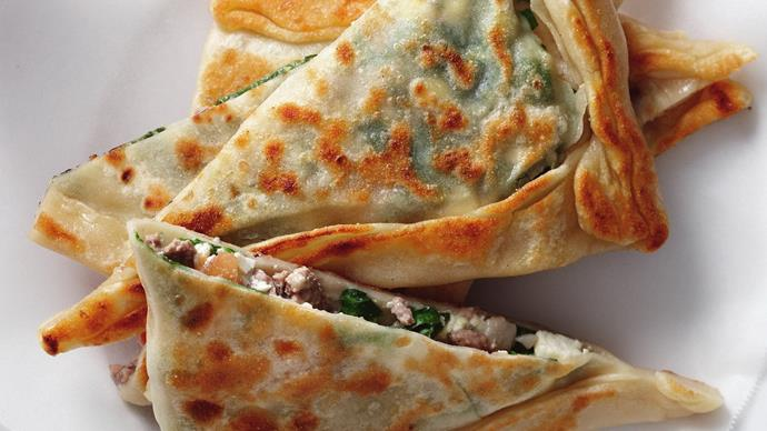 lamb and cheese gozleme