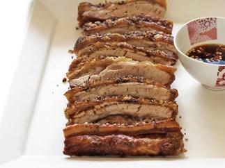 crisp five-spice salt pork belly