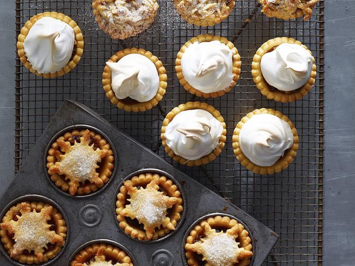 "**[Mince pies](https://www.womensweeklyfood.com.au/recipes/mince-pies-4765|target=""_blank"")**"