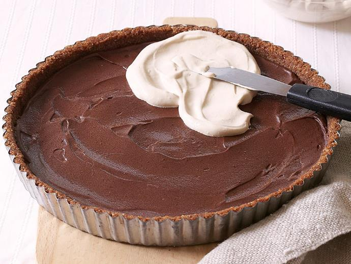 "**[Mud pie](https://www.womensweeklyfood.com.au/recipes/mud-pie-4771 target=""_blank"")**"