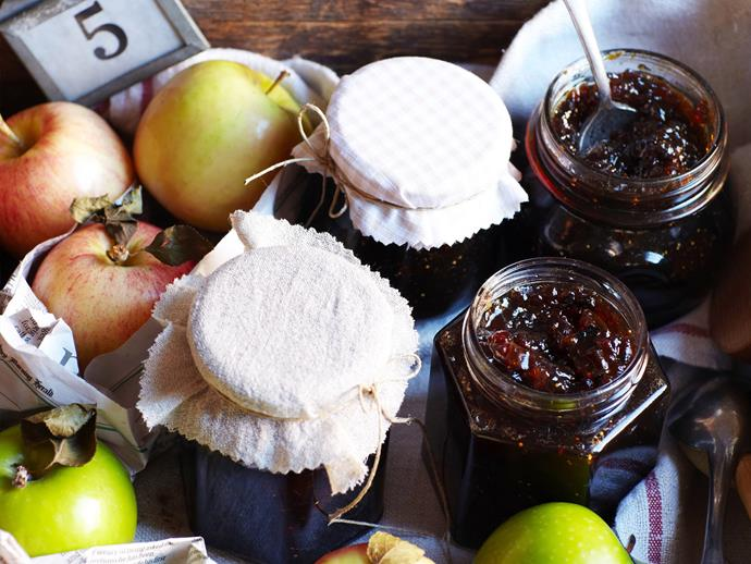 """**[Spiced fig and apple jam](https://www.womensweeklyfood.com.au/recipes/spiced-fig-and-apple-jam-11029