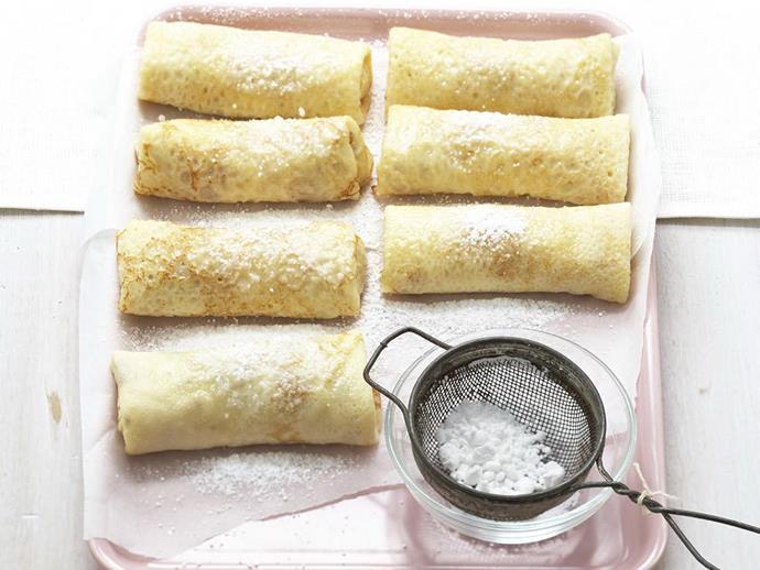 "**[Ricotta and honey crêpes](https://www.womensweeklyfood.com.au/recipes/ricotta-and-honey-crepes-4429|target=""_blank"")**"