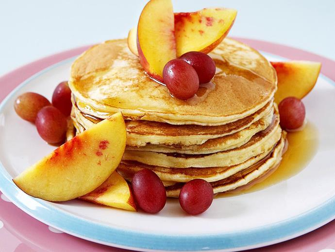 "[Ricotta pancakes](https://www.womensweeklyfood.com.au/recipes/ricotta-pancakes-10633|target=""_blank"")"
