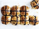 Best ever choc-chip hot cross buns