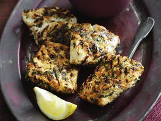 chermoula marinated fish
