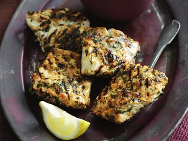 Chermoula marinated fish