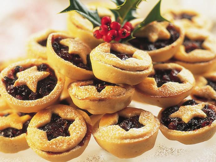 "You know its Christmas when the [fruit mince pies](https://www.womensweeklyfood.com.au/recipes/fruit-mince-pies-10437|target=""_blank"") come out."