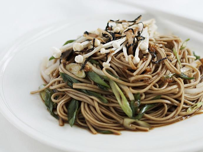 "**[Quick cold soba](https://www.womensweeklyfood.com.au/recipes/quick-cold-soba-10577|target=""_blank"")**"