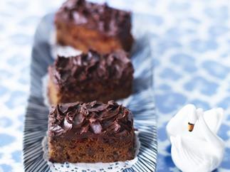 milk chocolate beetroot cake