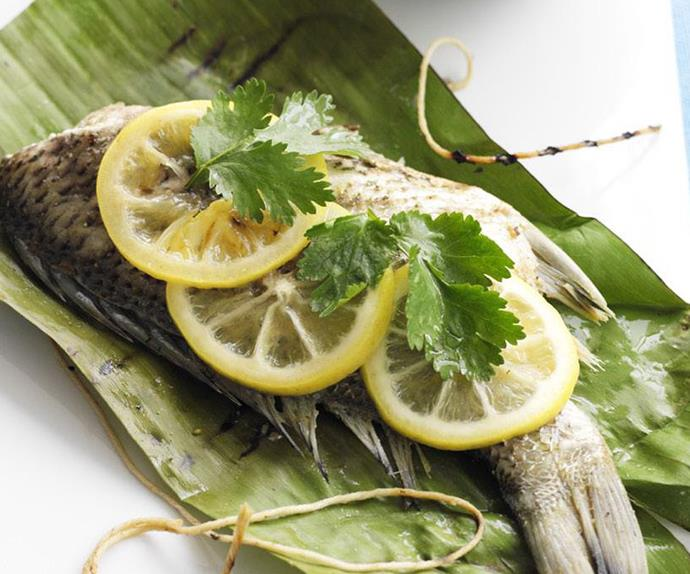 indian-spiced baby bream