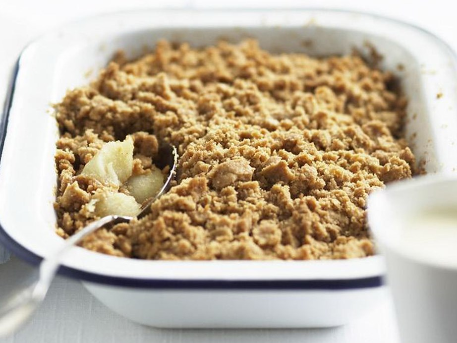 """Who doesn't love a delicious [**apple** crumble?](https://www.womensweeklyfood.com.au/recipes/apple-crumble-9324