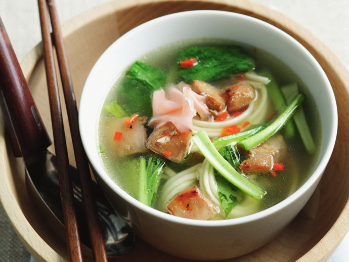 """Try it: [Teriyaki chicken and udon noodle broth](http://www.foodtolove.com.au/recipes/teriyaki-chicken-and-udon-noodle-broth-25524