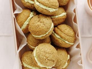 GINGER AND LIME Whoopie Pies