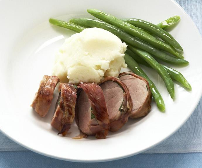 prosciutto and sage pork fillet