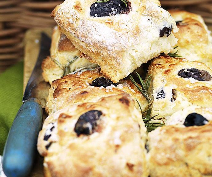 OLIVE AND ROSEMARY Quick Bread