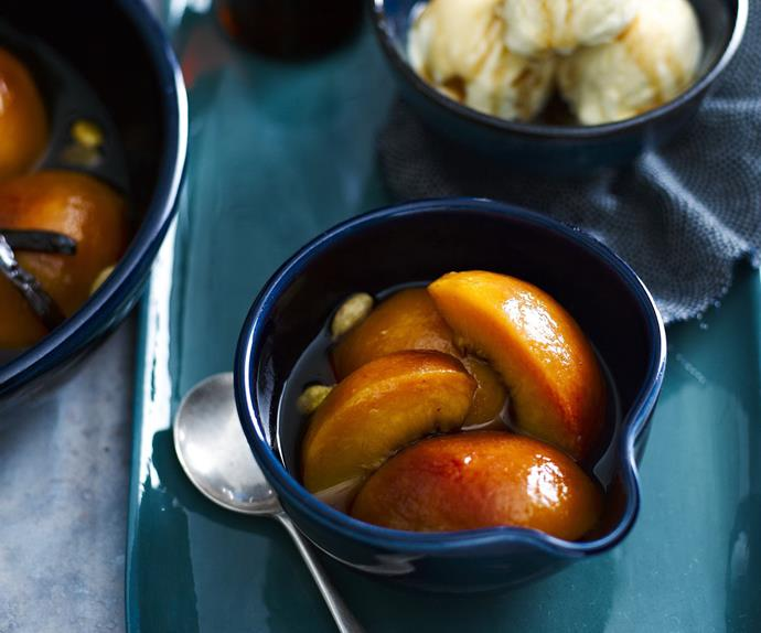 ROASTED PEACH and NectarineCompote